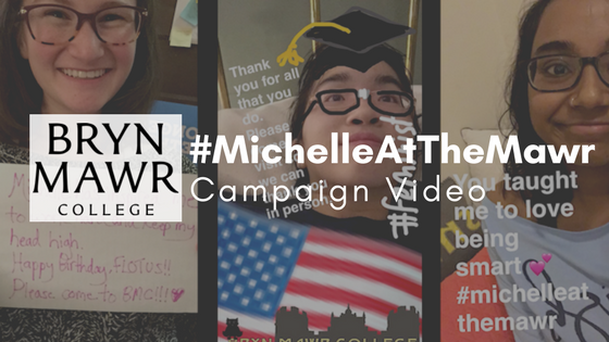 Bryn Mawr College Michelle At The Mawr Campaign Video