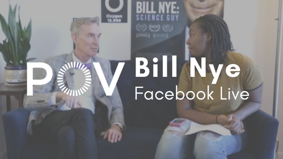 POV Bill Nye Facebook Live
