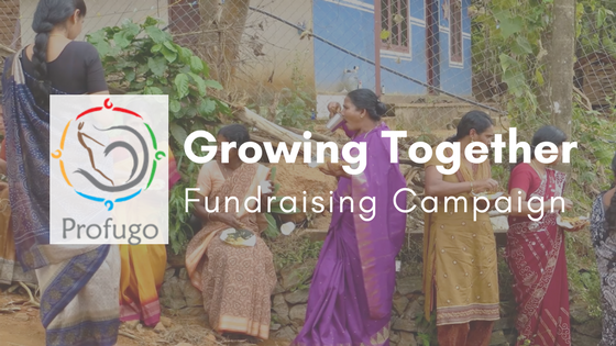 Profugo Growing Together Fundraising Campaign