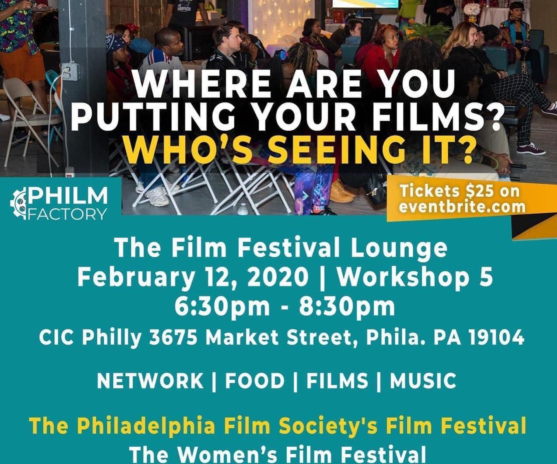 Film Festival Lounge Panel